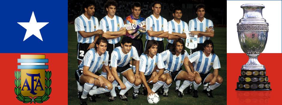 Сборная Аргентины - обладатель Кубка Америки