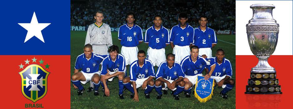Сборная Бразилии - обладатель Кубка Америки