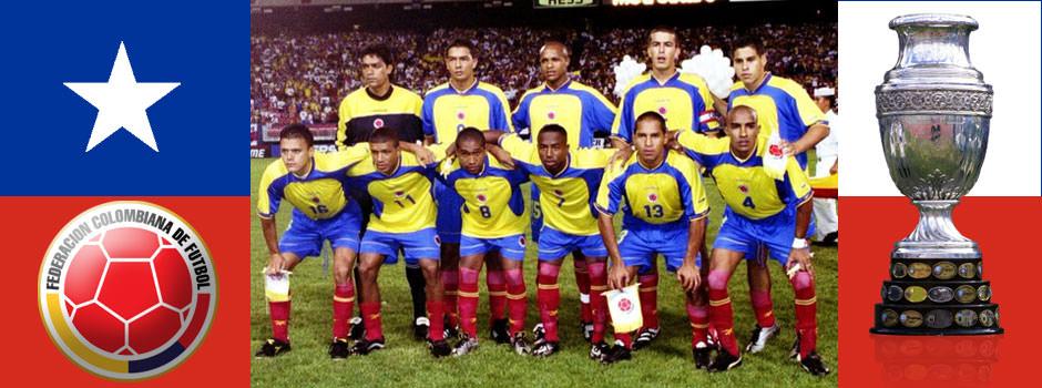 Сборная Колумбии - обладатель Кубка Америки
