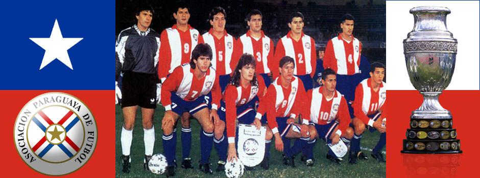 Сборная Парагвая - обладатель Кубка Америки