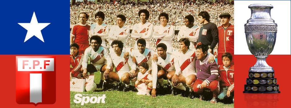 Сборная Перу - обладатель Кубка Америки