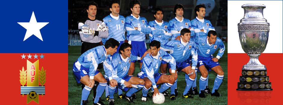 Сборная Уругвая - обладатель Кубка Америки