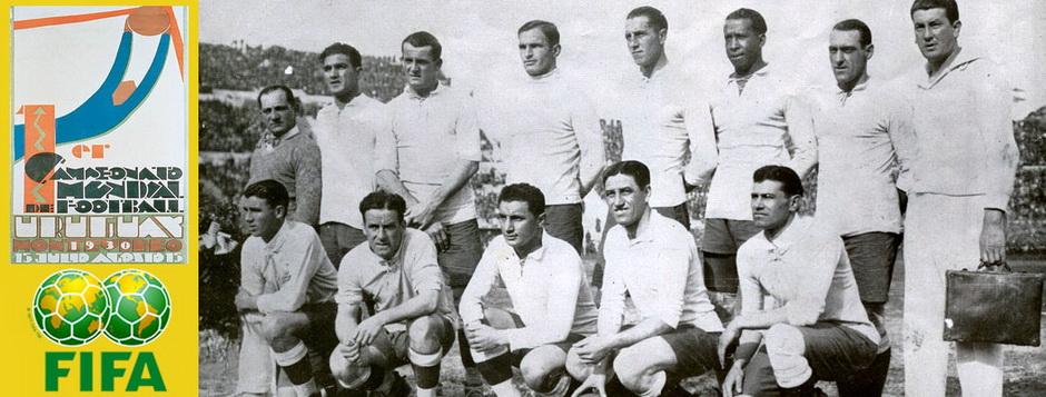 Сборная Уругвая - чемпион мира по футболу 1930 года