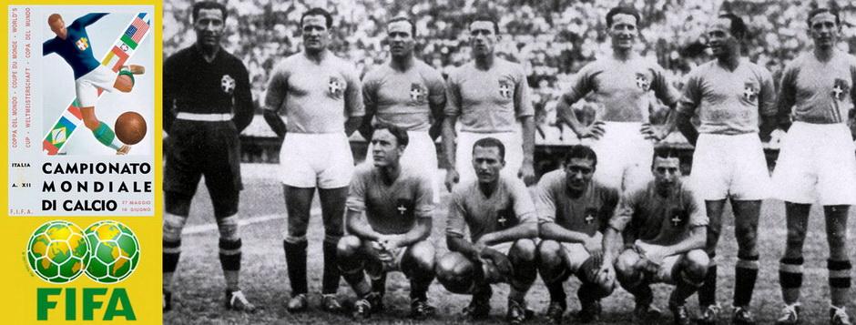 Сборная Италии - чемпион мира по футболу 1934 года