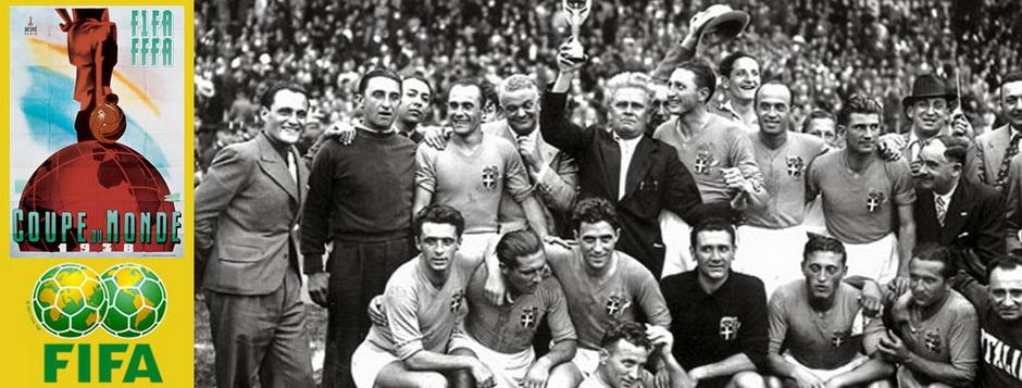 Сборная Италии - чемпион мира по футболу 1938 года