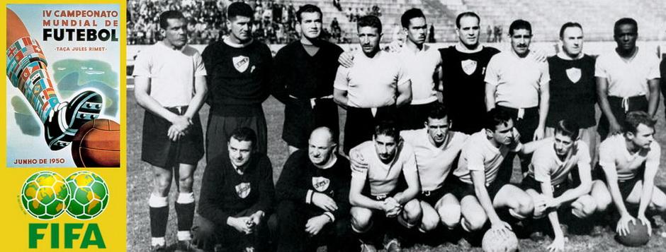 Сборная Уругвая - чемпион мира по футболу 1950 года
