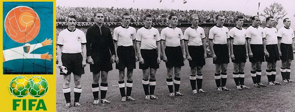 Сборная ФРГ - чемпион мира по футболу 1954 года