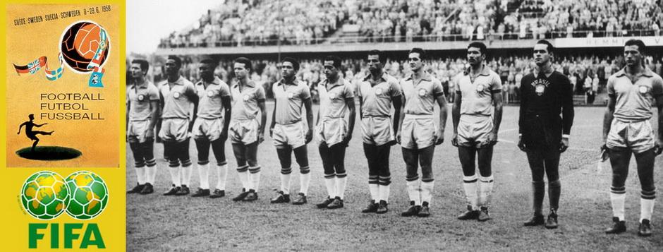 Сборная Бразилии - чемпион мира по футболу 1958 года