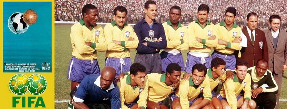 Сборная Бразилии - чемпион мира по футболу 1962 года