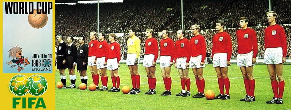 Сборная Англии - чемпион мира по футболу 1966 года