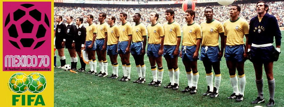 Сборная Бразилии - чемпион мира по футболу 1970 года