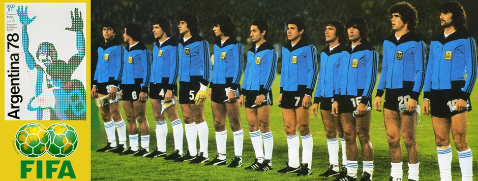 Сборная Аргентины - чемпион мира по футболу 1978 года