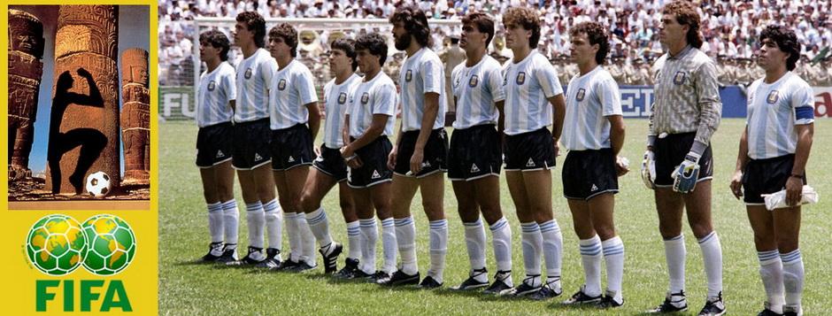Сборная Аргентины - чемпион мира по футболу 1986 года