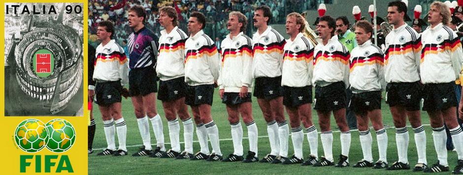Сборная ФРГ - чемпион мира по футболу 1990 года
