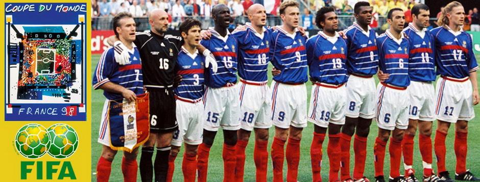 Сборная Франции - чемпион мира по футболу 1998 года