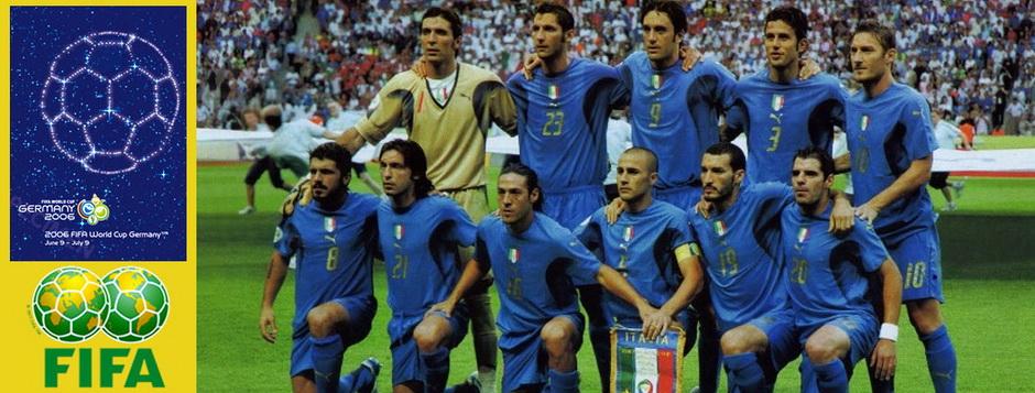 Сборная Италии - чемпион мира по футболу 2006 года